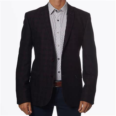 Alisha Maroon Blazer time burgundy check jacket designer blazers one like no other