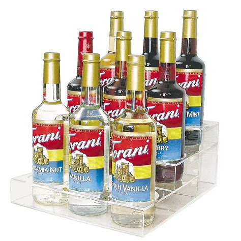 Coffee Syrup Rack by Espresso Syrup Rack Counter Rack For Bottled Syrups