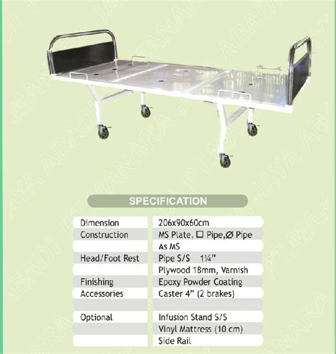 hospital bed size hospital equipment indonesia