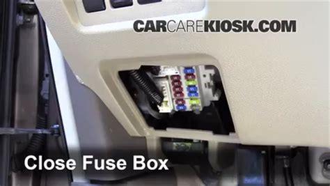 interior fuse box location 2009 2014 nissan murano 2009