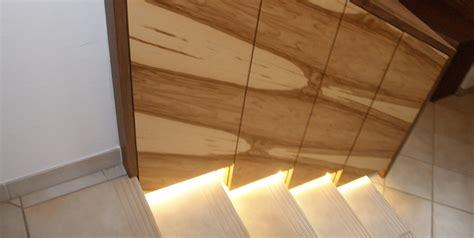 modernes vorzimmer aus amerikanischem nuss holz und satine - Beleuchtung Vorzimmer