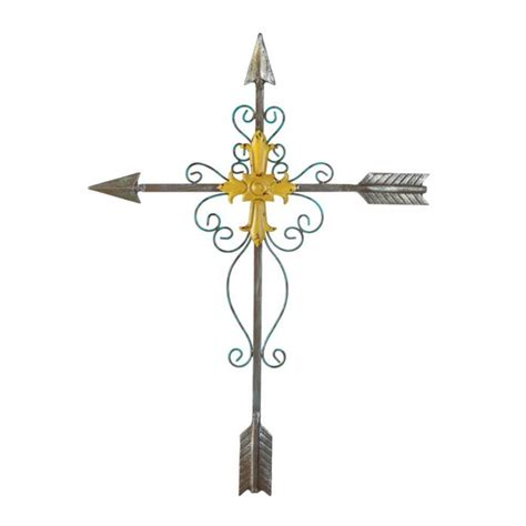 wholesale crosses home decor crossed arrow wall cross