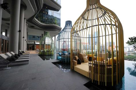 Singapore Home Interior Design Parkroyal On Pickering By Woha