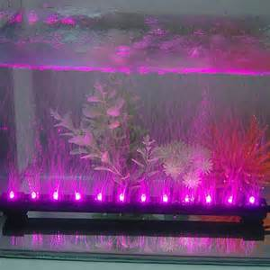 solar string lighting pink led aquarium fish tank airstone bubble light