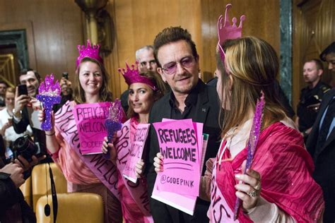 Bono Testifies Against Former Stylist by Bono Foreign Aid Is National Security Issue