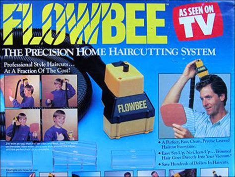 Flowbee Vacuum Haircut System Get Hot As Seen On Tv Chacha | worst gift ideas