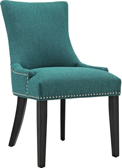marquis teal upholstered dining chair eei 2229 tea