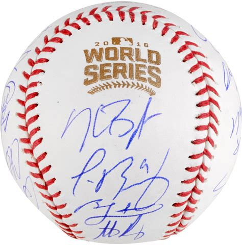 sport star autographs autographs from the worlds most chicago cubs 2016 mlb world series chions team signed