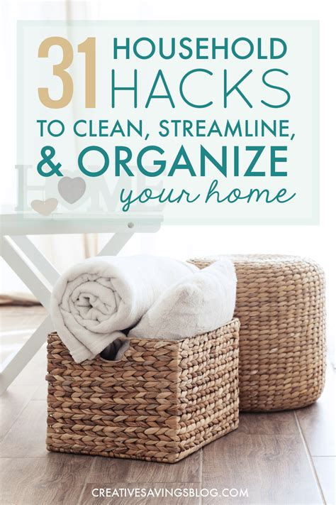 household hacks household hacks to clean streamline organize your home