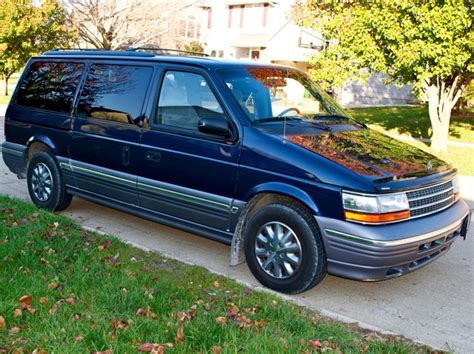 1994 plymouth grand voyager information and photos