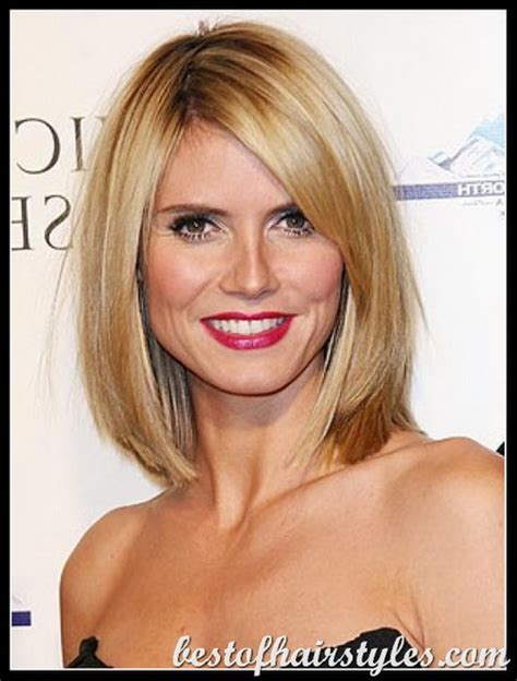 hairstyles for with thick hair medium length medium length haircuts for thick hair