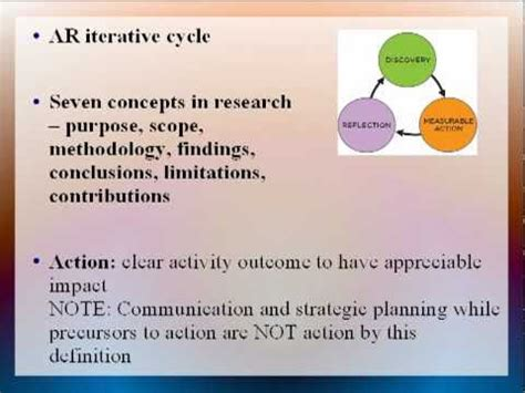themes in education action research pdf action research written up youtube
