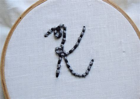 How To Do Couching by Couching Embroidery Stitch Tutorial On Craftsy