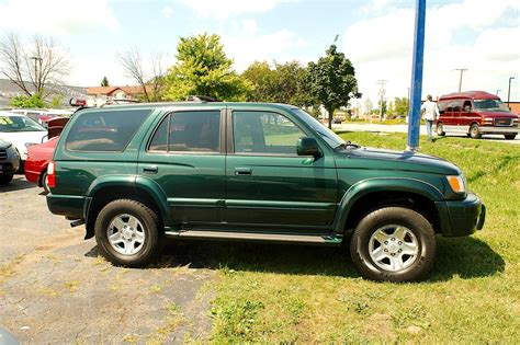 1999 Toyota 4runner Green 4x4 Limited Suv Sale