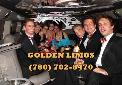 limousine rental for prom prom limousine rental golden limos edmonton