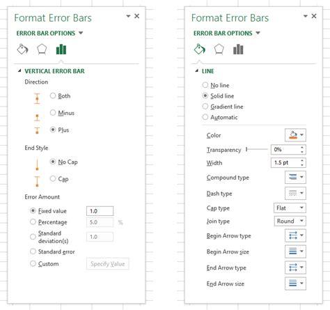format error bars excel 2007 error bar ideosyncrasy peltier tech blog