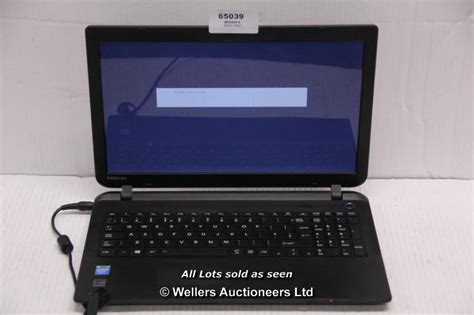 toshiba satellite c50 b 14d laptop no operating system 500gb drive has system password