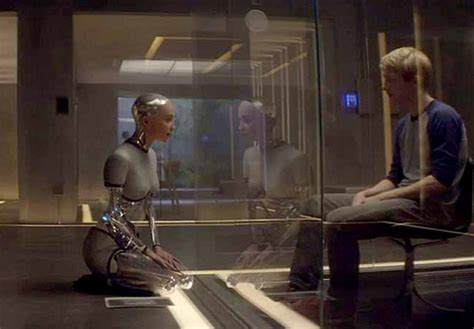 ex machina cast ex machina has beautiful visuals and big ideas but