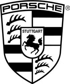 Porsche Eps Porsche Logo Free Vector In Adobe Illustrator Ai Ai