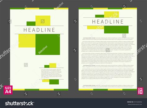 report layout design exles vector flyer poster leaflet annual report design