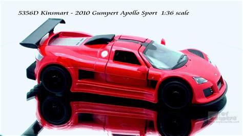 Kinsmart 2010 Gumpert Apollo Sport 5356d kinsmart 2010 gumpert apollo sport 136 scale diecast