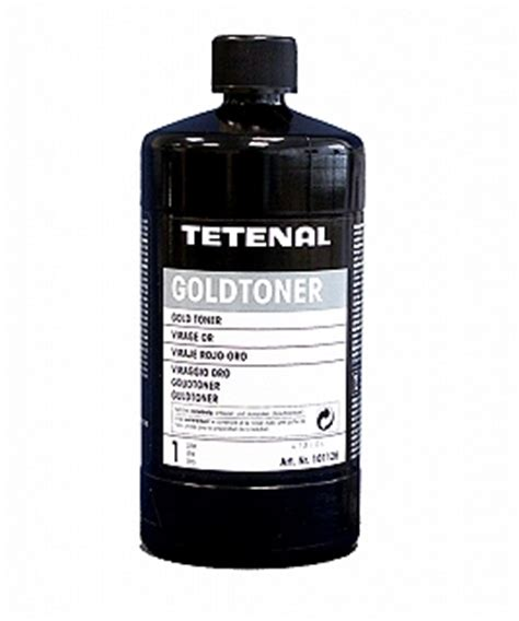 Toner 1 Liter tetenal gold toner 1 liter freestyle photographic supplies