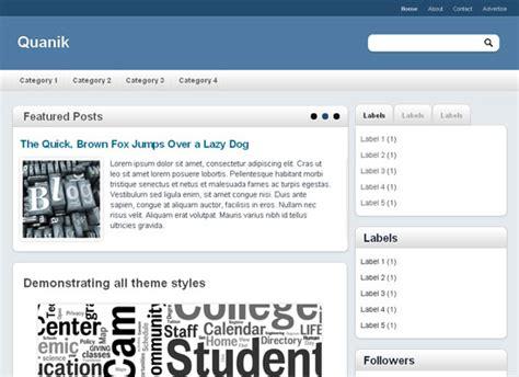 template toko online blogspot premium gratis quanik blogger template