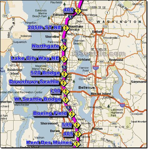 map of interstate 5 through oregon image gallery i5 map