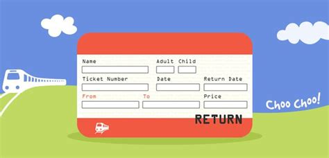 printable train tickets templates a printable set of uk train ticket templates there are 8