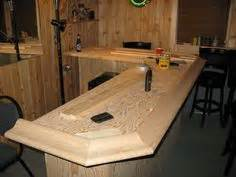 How To Make An Bar Top by 1000 Images About Basement Bar Ideas On