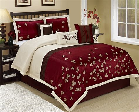 burgundy queen comforter set burgundy black bedding sets sale ease bedding with style