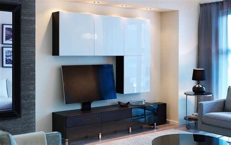 ikea scaffali besta combinazione best 197 uppleva marrone nero con mobile tv con