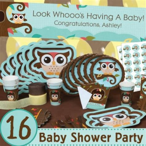 baby boy shower owl theme owl themed baby shower