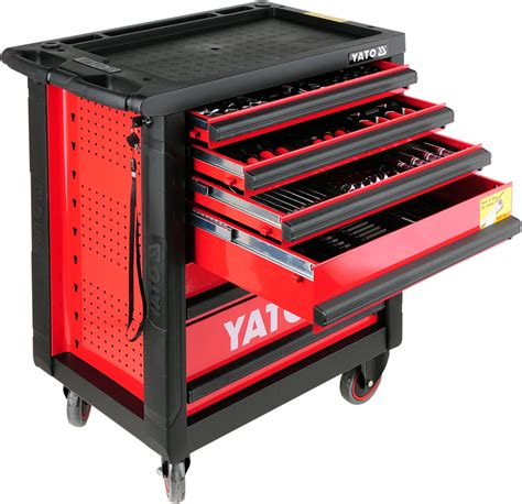 Tools Cabinet service tool cabinet with tools 6 drawers 177pcs yato