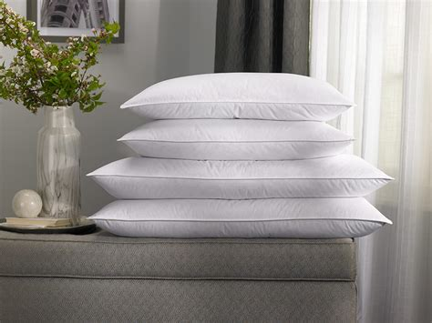 and feather pillow feather pillow to home hotel collection