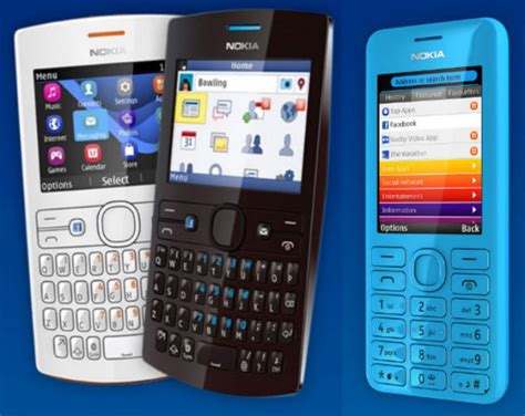 themes nokia asha 205 new nokia asha 205 and 206 phones announced with slam