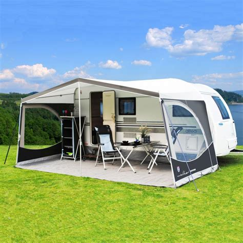 electric awnings for caravans walker weekender sun canopy for trigano silver 420 430