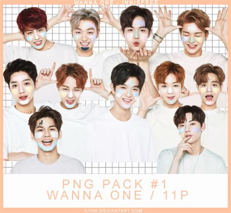 Wanna One Daehwi Innisfree Poster png pack 1 wanna one x innisfree 11pngs by cyha on