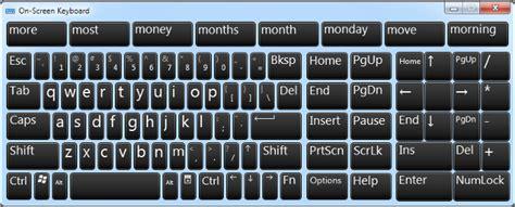 keyboard for windows 7 tips mengetik tanpa keyboard