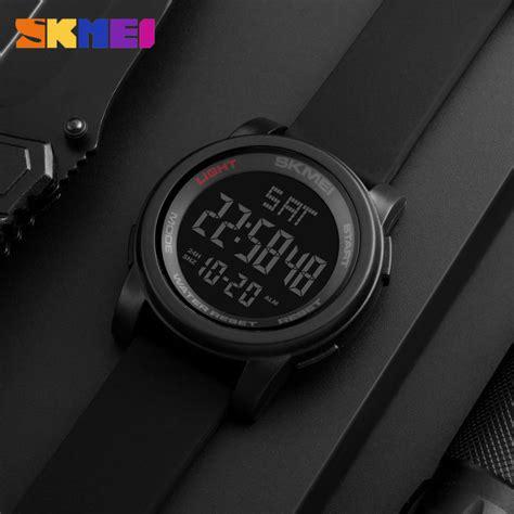 Jam Tangan Pria Visica Jtt8 Digital skmei jam tangan digital pria dg1257 blue jakartanotebook