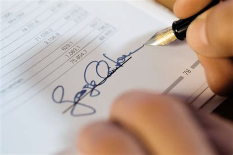 How To Make Your Own Signature On Paper - create a digital signature
