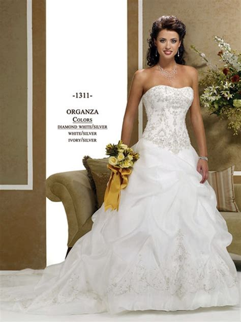 6 Gorgeous Strapless Wedding Gowns by Gorgeous Gown Strapless Satin Wedding Dress
