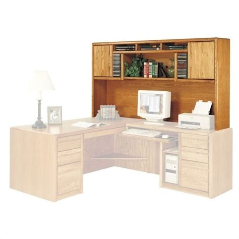Home Office Furniture Oak Martin Furniture Cont Rhf L Shape Home Office Set Medium Oak Computer Desk Ebay