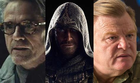 brendan gleeson upcoming movies jeremy irons and brendan gleeson join assassin s creed