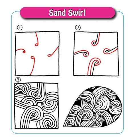 zentangle pattern sand swirl 171 best images about zentangles on pinterest doodle