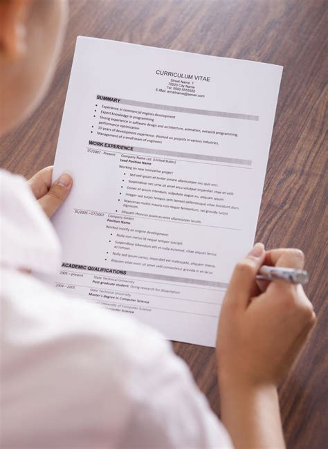 curriculum vitae cv sles and writing tips