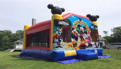 mickey house mickey mouse clubhouse bounce houses northern kentucky water slides
