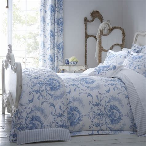 Blue Toile Duvet Cover Dorma Blue Toile Collection Duvet Cover Homes And