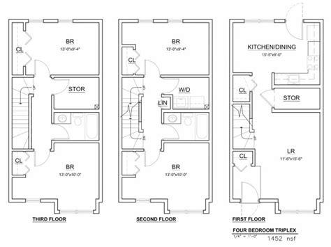 Triplex Apartment Plans 4 Bed 2 Bath Apartment In Boston Ma Maverick Landing