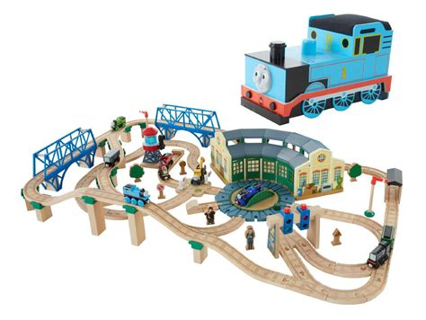 And Friends Tidmouth Sheds Deluxe Set by Fisher Price The Wooden Railway Tidmouth Sheds Deluxe Set Toys